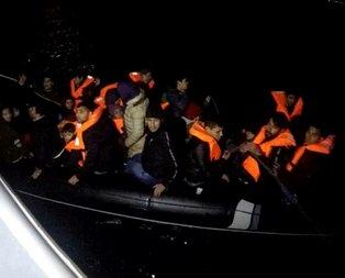 Çanakkale'de 33 göçmen yakalandı!