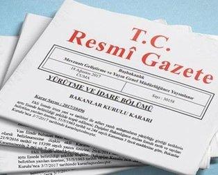Başkan Erdoğan'ın kararı Resmi Gazete'de yayımlandı