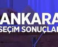 31 Mart Ankara son dakika seçim sonuçları
