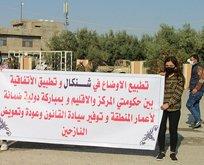 Irak'taki Ezidilerden PKK'ya sert sözler