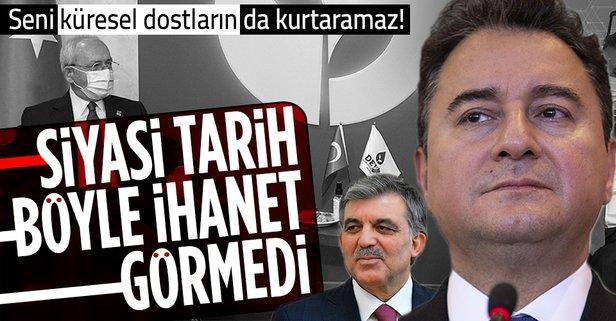 Babacan'ın ihaneti siyasi tarihe geçecek!