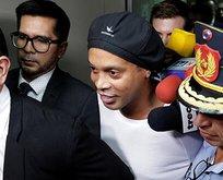 Sahte pasaport kullanmıştı! Ronaldinho tutuklandı