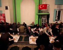Türk askerinden Bosna Hersek'te iftar