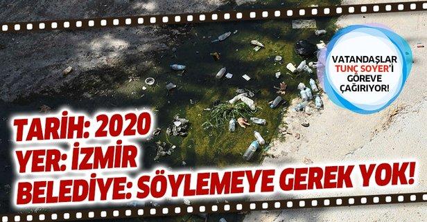 Vatandaşlar Tunç Soyer'i göreve çağırdı!