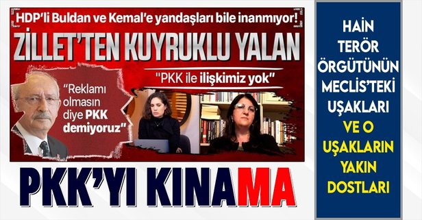 HDP ve Kılıçdaroğlu'nun sözde kınaması