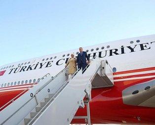 Başkan Erdoğan İngiltere'den ayrıldı