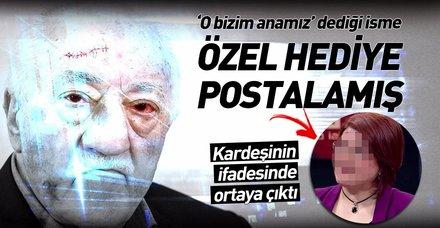"""FETÖ elebaşı Gülen """"O bizim anamız"""" dediği eski HSYK İkinci Daire Başkanı Nesibe Özer'e özel hediye postalamış"""