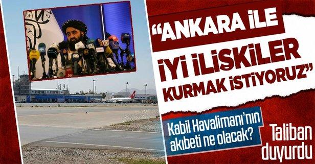 Taliban'dan Türkiye açıklaması! İkili ilişkiler...
