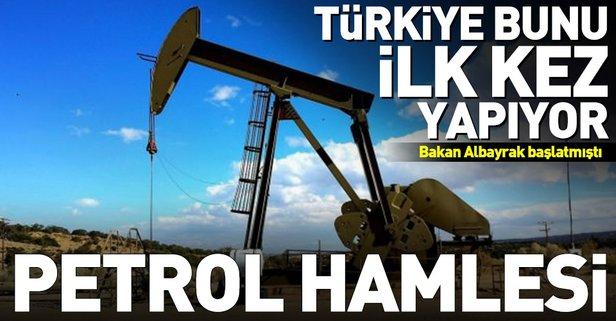 Türkiye'den petrol konusunda dev hamle