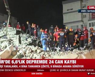İzmir depreminde 24 kişinin enkaz altında kaldığı Emrah Sitesi'nden acı haber!