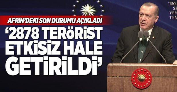 Cumhurbaşkanı Erdoğan'dan Ankara'da önemli açıklamalar