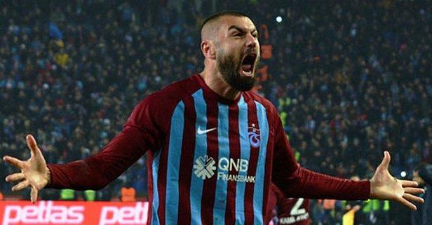 Trabzonspor'a şok dava ! Burak Yılmaz TFF'ye başvurdu
