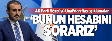 AK Parti MYK toplantısı sonrası flaş açıklama!