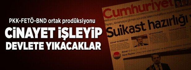"""Garo Paylan ve PKK'nın """"suikast"""" tezgâhı"""