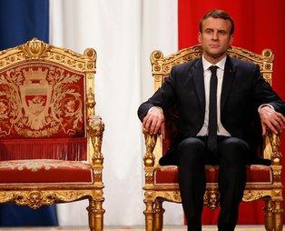 """Türkiye'nin önlediği DEAŞ'lı teröristler sayesinde Fransa'da rahat eden Macron Türkiye'ye """"işgalci"""" dedi"""