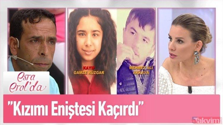 Esra Erol'da canlı yayınında kan donduran olay! Annesi tarafından tüpçüye satılan Gamze Rüzgar'dan son dakika haberi!