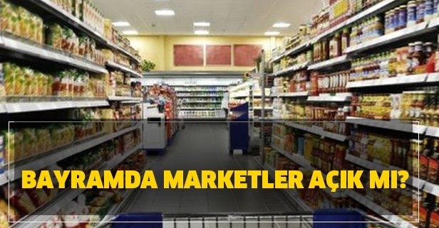 Bayramın 2. günü marketler açık mı? 25 Mayıs bayramda BİM, A101, ŞOK, Migros, Carrefoursa açık mı?