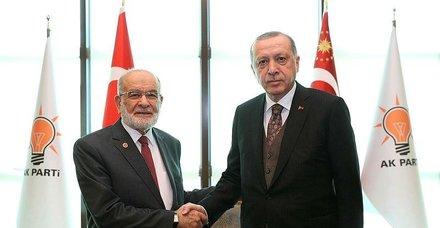 Temel Karamollaoğlu'ndan Erdoğan'a tebrik telefonu