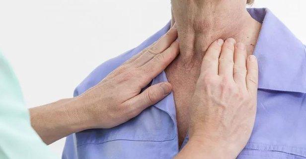 Grip hastalık lenfoma