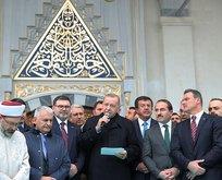 Başkan Erdoğan İzmir'de cami açılışı yaptı