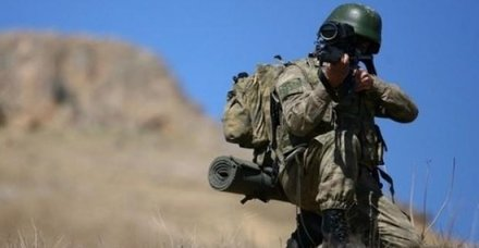PKK'lı 2 terörist öldürüldü! 2 askerimiz yaralı
