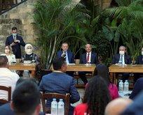 Başkan Erdoğan KKTC'de gençlerle buluştu
