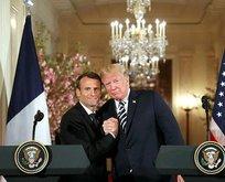 Trump'tan Macron'a yeni teklif
