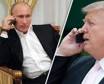 Putin ve Trumptan flaş telefon görüşmesi