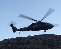 Şırnak'ta şafak operasyonu! Helikopterlerle...