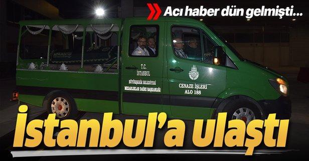 Bakan yardımcısı Dursun'um cenazesi İstanbul'a gönderildi