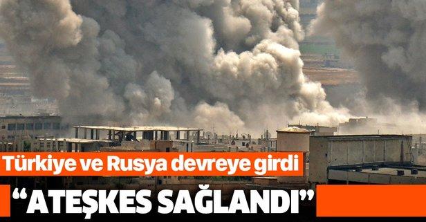 Rus medyası duyurdu: İdlib'de ateşkes sağlandı