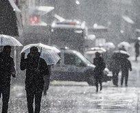 İstanbul'da yağmur etkili olmaya başladı!