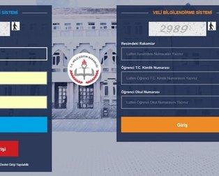 2019 e-okul giriş ekranı! Veli Bilgilendirme Sistemi