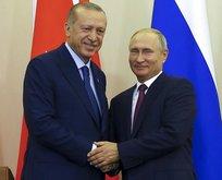 Başkan Erdoğan ve Putin'in diplomasi trafiği