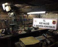 Rize'de kaçak silah operasyonu