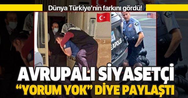 Hollandalı siyasetçiden Türk polisine övgü!