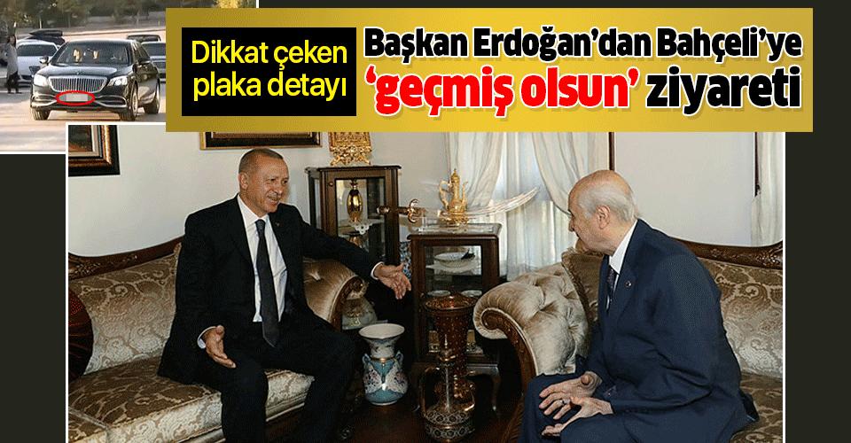Son dakika: Başkan Erdoğan'dan Bahçeli'ye