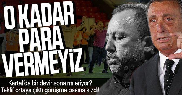 Beşiktaş'ta Sergen Yalçın dönemi bitiyor mu?