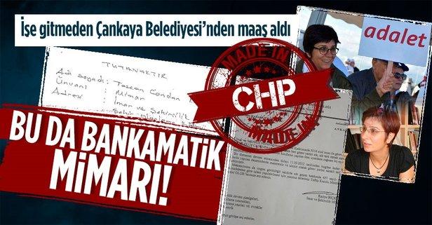 Çankaya Belediyesi çalışanı ve Mimarlar Odası Ankara Şube Başkanı Tezcan  Karakuş Candan işe gitmeden maaş aldı! İşte belgeleri - Takvim