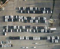 Yüzlerce lüks araç otoparklara çekildi! Nedeni ise...