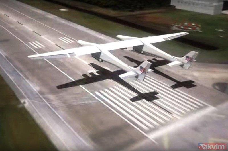 Dünyanın en büyük uçağı Stratolaunch satışa çıkarıldı! İşte fiyatı