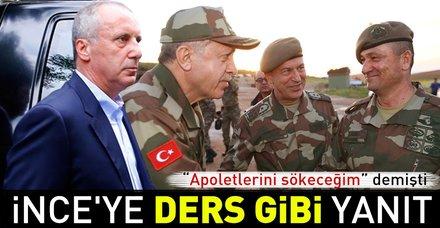 İnce'nin 'Apoletlerini sökeceğim' dediği Temel Paşa'nın yeni rütbesini Başkan Erdoğan takacak