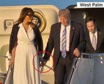 First Ladyden Trumpı şoke eden hareket