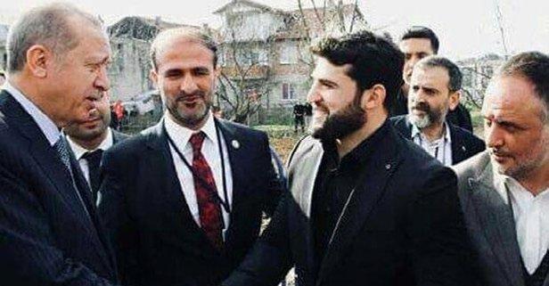 Erdoğan şampiyonla buluştu
