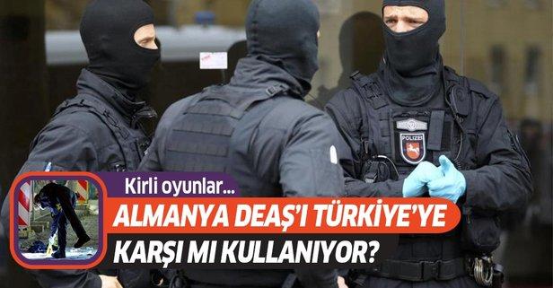 Almanya DEAŞ'ı Türkiye'ye karşı mı kullanıyor?