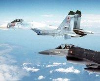 Rus ve ABD jetleri Karadeniz'de karşılaştı