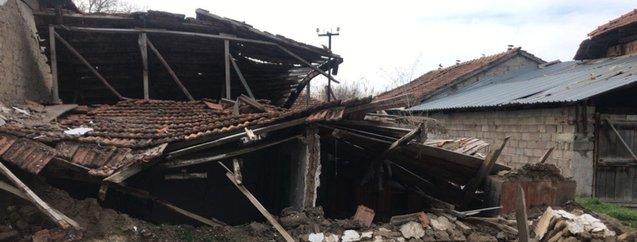 Denizli Acıpayam son dakika deprem fotoğrafları