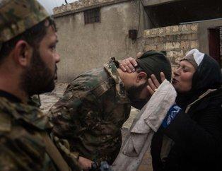 Afrin'in köyünde sevinç gözyaşları