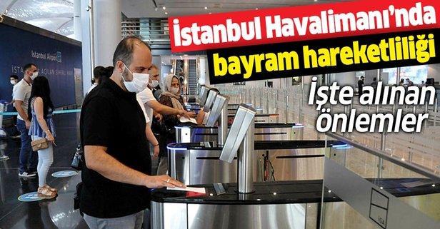 İstanbul Havalimanı'ndan bayram hareketliliği