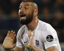 Trabzonspordan Burak Yılmaza sitem dolu açıklama